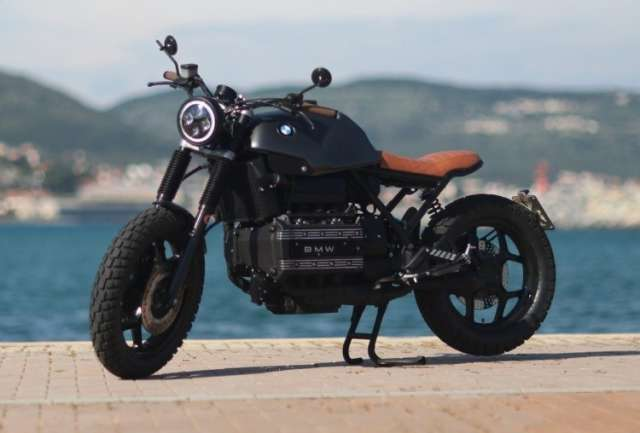 De Angelis Elaborazioni: кастом BMW K100 Flying Brick