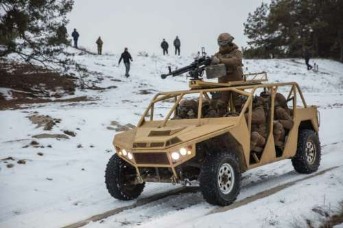 Near Kiev passed the test of the new army buggy