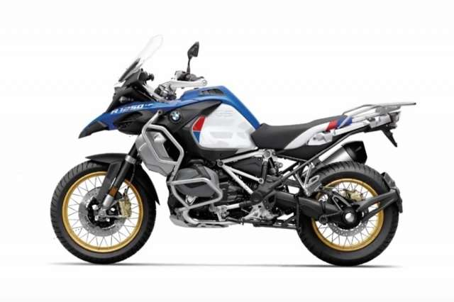 Первые фото BMW R1250GS Adventure 2019