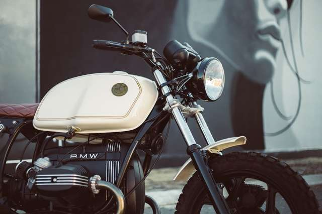 Rogue Motorcycles: скрэмблер BMW R65