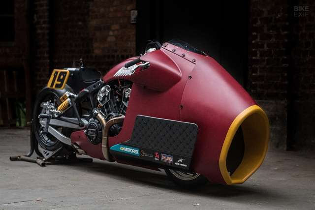 Драгбайк Indian Scout Bobber