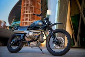 Dust Motorcycles создали кастом BMW R80 Dune Basher